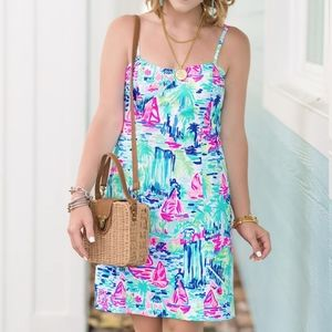 Lilly Pulitzer Shelli Tie Back Shift Dress